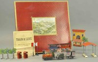 Faivre Jules Edmond Railway-Trains Boxed train station,...