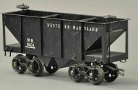 Voltamp Railway-Freight Wagons Hopper car #13474 with...