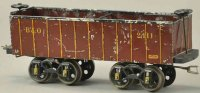 Voltamp Railway-Freight Wagons Gondola #2111 with eight...