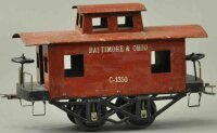 Voltamp Railway-Freight Wagons Caboose one-of-a-kind...