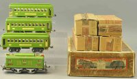 Lionel Railway-Trains Macys special set #2, in green,...