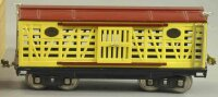 Lionel Railway-Freight Wagons Cattle car  #213.5 with...