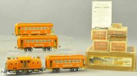 Lionel Railway-Trains Passenger train Macy Special set in...