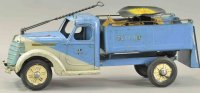 Buddy L Tin-pedal cars Rider ice truck made of pressed...