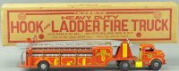 Marx Tin-Fire-Truck Hook and ladder fire truck, appears...