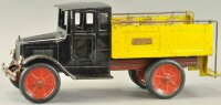 Buddy L Tin-Trucks Ice delivery truck, made of pressed...