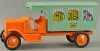 Gendron Wheel Company Tin-Trucks Sampson circus truck,...