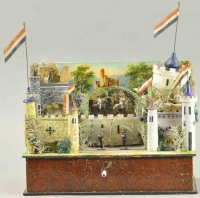 Erzgebirge Tin-Automata Attractive diorama, a quaint...