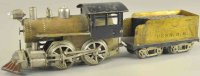 Elektoy Railway-Locomotives Steam locomotive with tender...