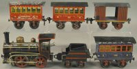 Maerklin Railway-Trains Passenger set, locomotive #1022...