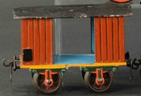 Maerklin Railway-Passenger Cars Baggage car # 1803/2 with...