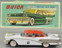 Asahi ATC Tin-Cars Buick made of tin, coloful...