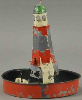 Plank Ernst Tin-Toys Lighthouse with boat