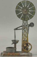 Unknown Steam Toys-Drive Models Windmill water well pump...