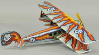 Ingap Tine Ariplanes Bi-wing airplane, bright color...