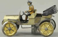 Issmayer Tin-Oldtimer Open phaeton with friction drive,...