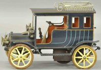 Maerklin Tin-Oldtimer Rare rear entry limousine,...