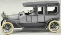 Bub Tin-Oldtimer Limousine with chauffeur, lithographed...