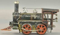 Maerklin Railway-Locomotives American clockwork steam...