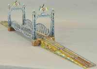 Maerklin Railway-Bridges First generation bridge #2504/0,...