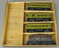 Bing Railway-Trains New York central passenger set, made...
