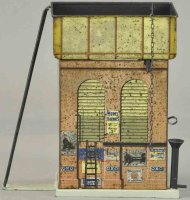 Carette Tin-Toys Water tower made from Carette for...