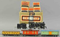 Lionel Railway-Trains Freight set #6508E with black steam...
