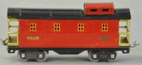 Lionel Railway-Freight Wagons Caboose #517.2 with eight...