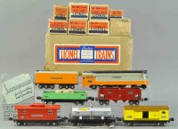 Lionel Railway-Trains Freight train set #757W, electric...