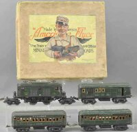 American Flyer Railway-Trains Passenger set Illini with...