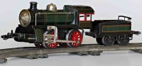 Bub Railway-Locomotives Locomotive with tender and spring...