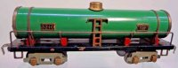 American Flyer Railway-Freight Wagons Metal tank car...