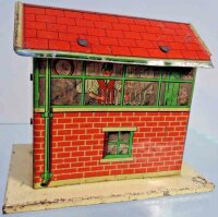 Brimtoy Railway-Rails/Power Train control tower, made of...
