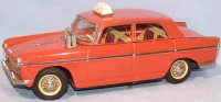 Joustra Tin-Cars Peugeot taxi #404 made of sheet metal,...