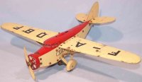 Meccano (Erector) Tin-Kit-Airplanes Construction kit...