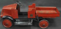 Steelcraft Tin-pedal cars Mack 5 ton dump pedal truck,...