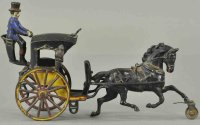 Pratt & Letchworth Cast-Iron-Carriages Cast iron Hansom...