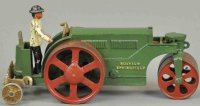 Vindex Cast-Iron Tugs-Rollers Road roller, rare and...