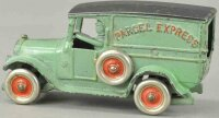 Dent Hardware Co Cast-Iron trucks Parcel express van,...