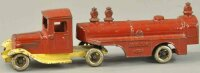 Kilgore Cast-Iron trucks Aviation gas tanker, cast iron,...
