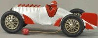 Hubley Cast-Iron Race-Cars Racer #672-1 made of cast...