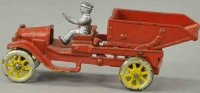 Dent Hardware Co Cast-Iron trucks Dump truck, made of cas...