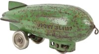 Arcade Cast-Iron Other-Vehicles Cast iron zeppelin om...