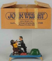 Wright John Cast-Iron-Mechanical Banks Dentist mechanical...
