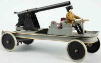 Kingsbury toys Military-Vehicles Cannon truck toy, mad of...