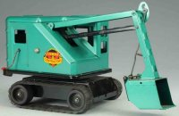Marx Tin-Tugs/Rollers Heavy duty power shovel of pressed...
