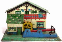 Keim Steam Toys-Drive Models Watermill with hammer mill,...