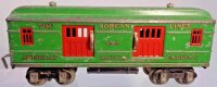 Dorfan Railway-Passenger Cars Baggage/Express car #492...