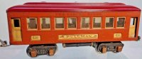 Lionel Railway-Passenger Cars Pullman car #610 (type...