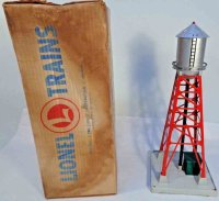 Lionel Railway-Buildings Water tower #193, silver painted...